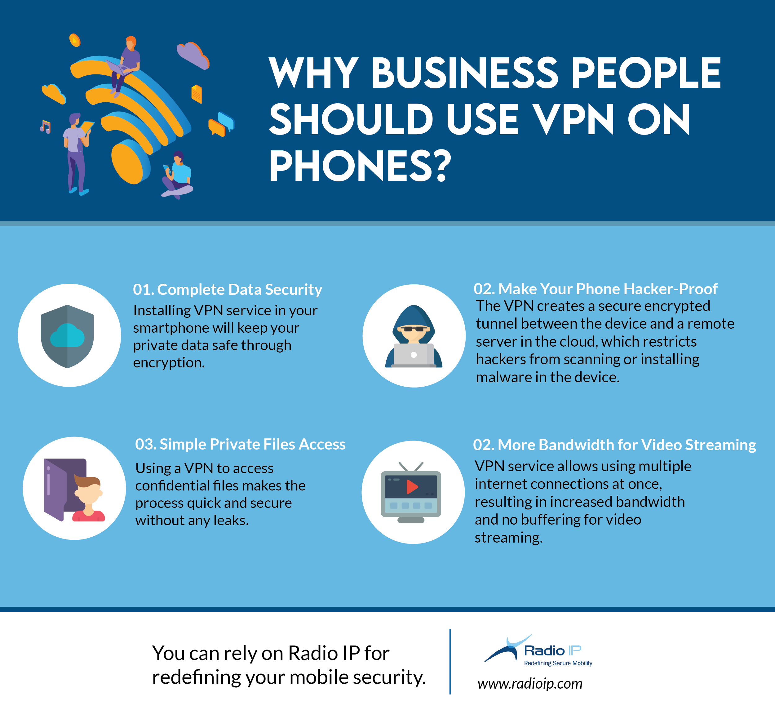 Business People Should Use VPN on Phones