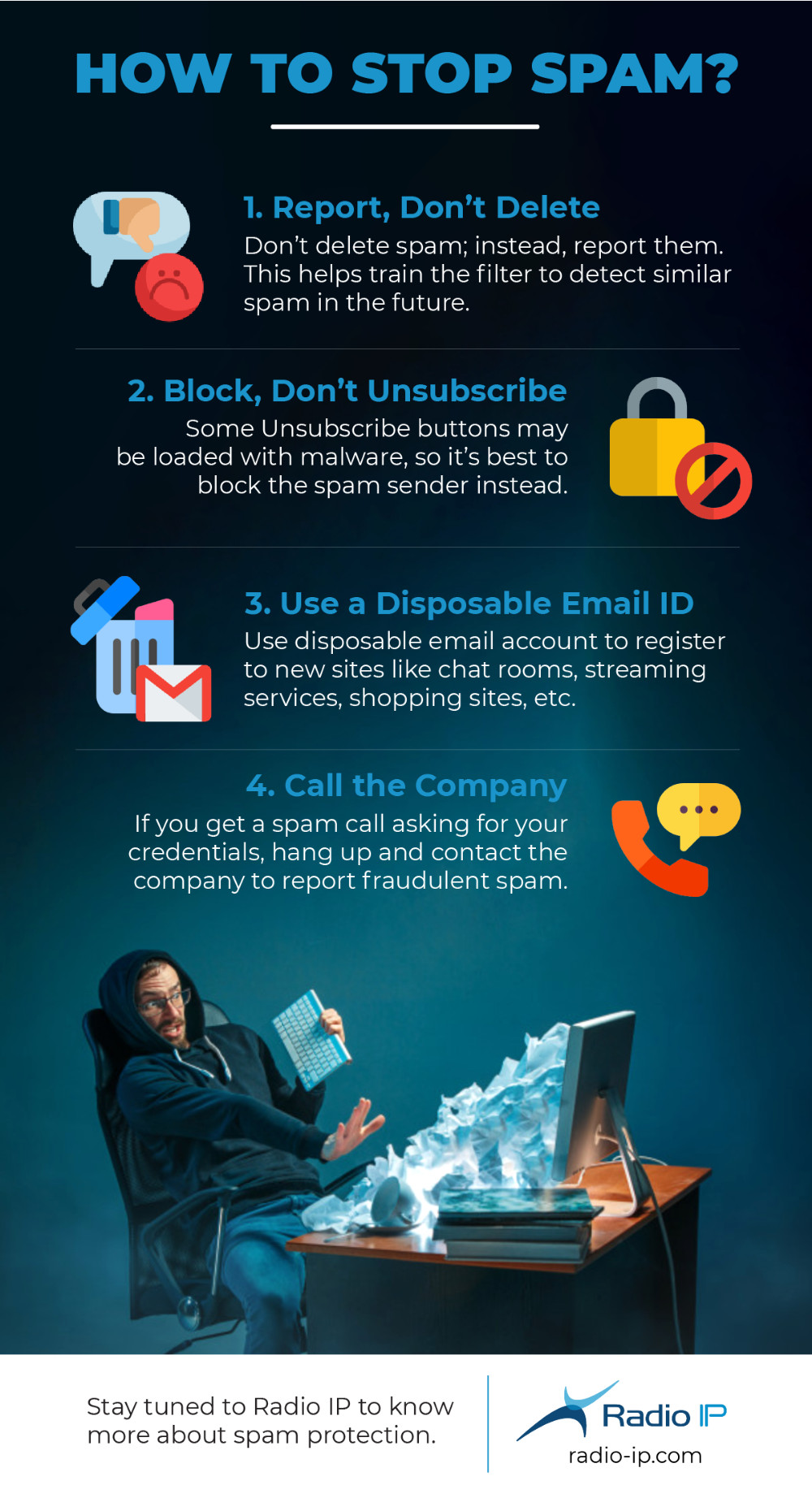 How To Stop Spam