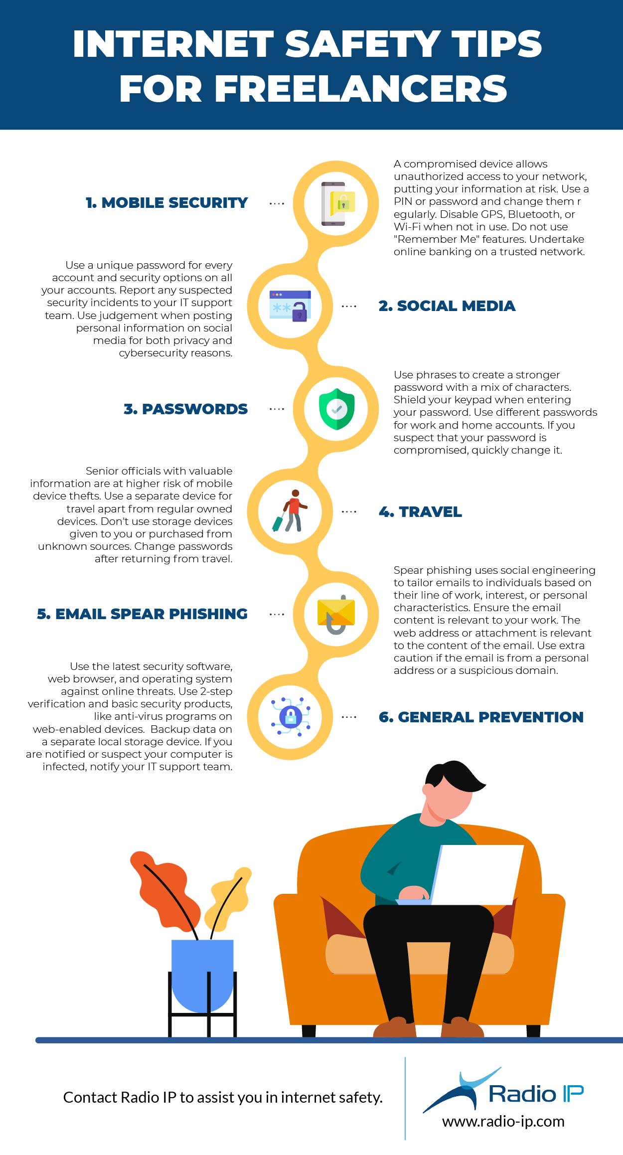 Internet Safety Tips For Freelancers